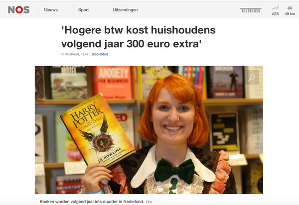 HARRY POTTER WTF HARRY POTTER IN EEN BTW BERICHT