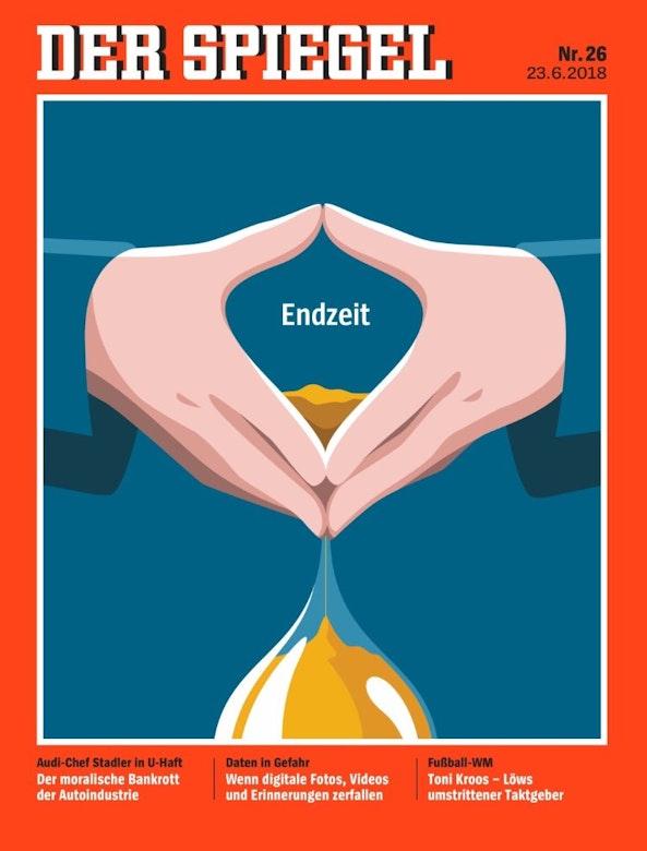 Duitsmedia zien een eindspel voor Merkel