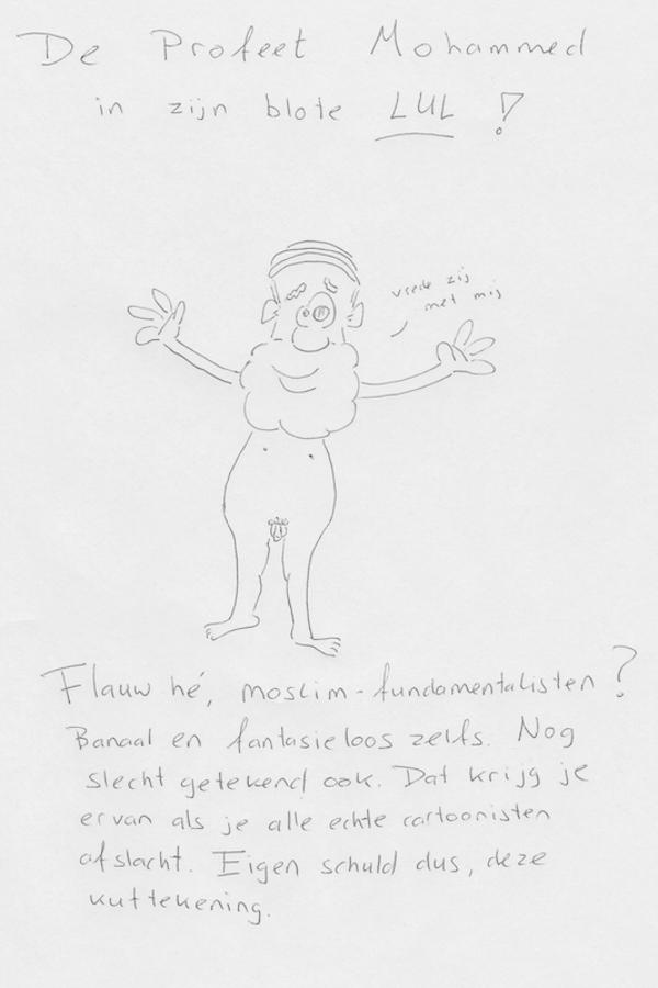 Mohammed omdat het moet