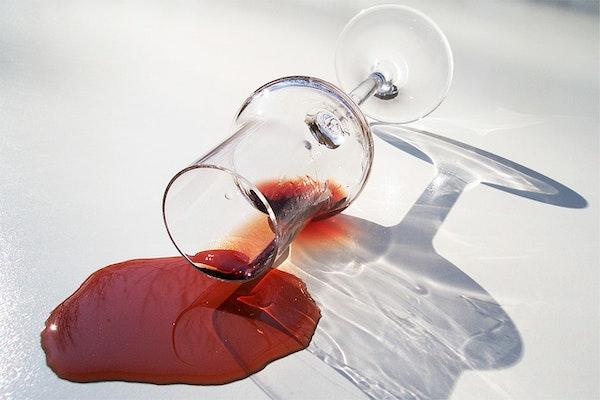 Het Dessertwijnglas Dat Alles Zag