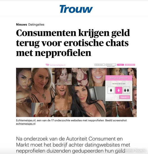 echte Trouw lezers punt NL
