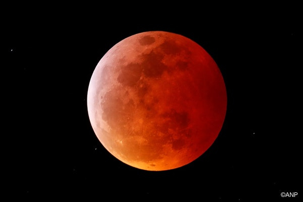 ...ook moeite hadden met het scherpstellen van de maan