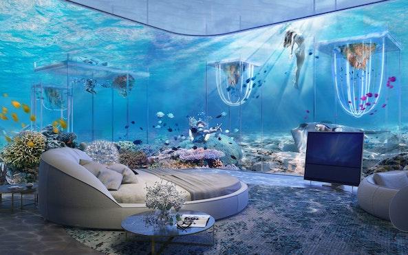 Lekker onder water wonen, waarom ook niet