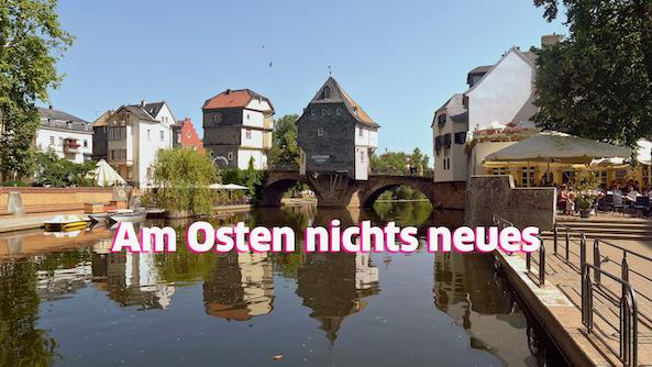 Prachtig oud Duits stadje jammer van al die ruziezoekende Poolse vrouwen