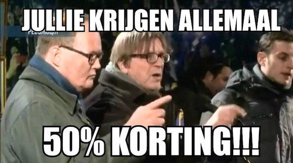 korting is ook omkopen