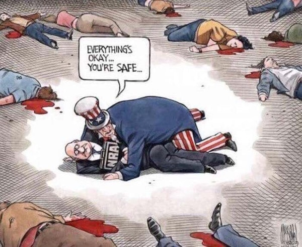 Mass shooting 154 alweer dit jaar