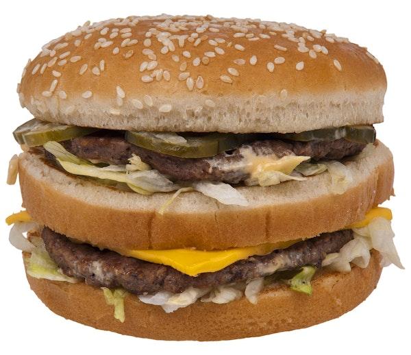 PSA. Dat je te vet bent, is niet de schuld van McDonald's. Tenzij Ronald McDonald en Hamburglar je at gunpoint gedwongen hebben om die Supersize Big Mac met grote milkshake en Kip-20 met curry naar binnen te werken godver zin in McDonald's nu