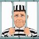 niet de gevangene in het verhaal