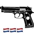 realistische foto van een wapen