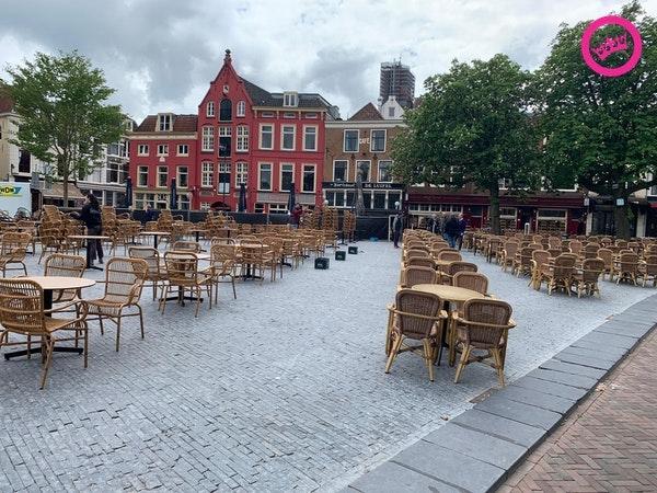 Utrecht, Neude. Eerder dit jaar...
