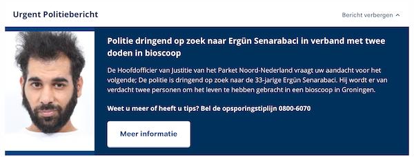 Voorpagina politie.nl