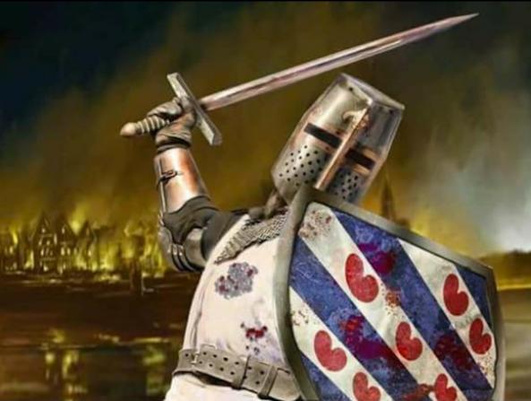 Sinterklaas Justice Warrior