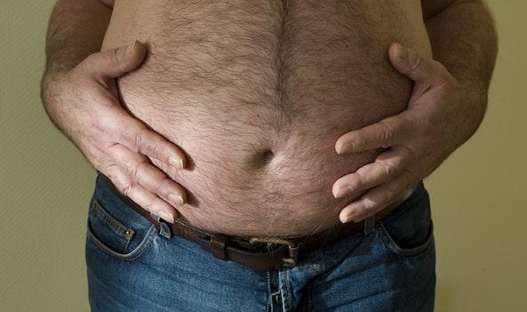 Een zwanger mens