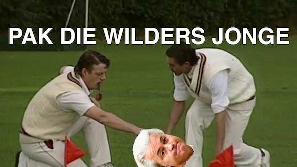 niet de cricketer in het verhaal - red.