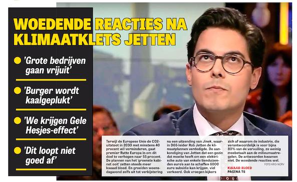 Headlines in een Geel Hesje!