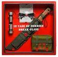 Deze survival box noemen ze in Amerika heel treffend een Zombie Cabinet