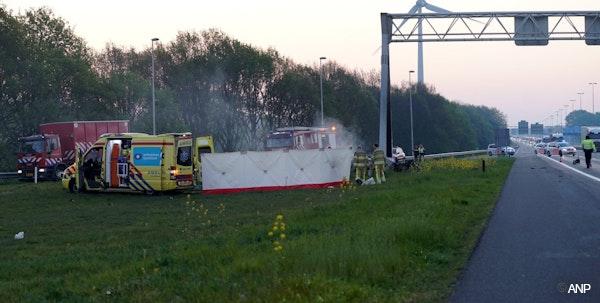 De ongelukkige auto bij Deventer