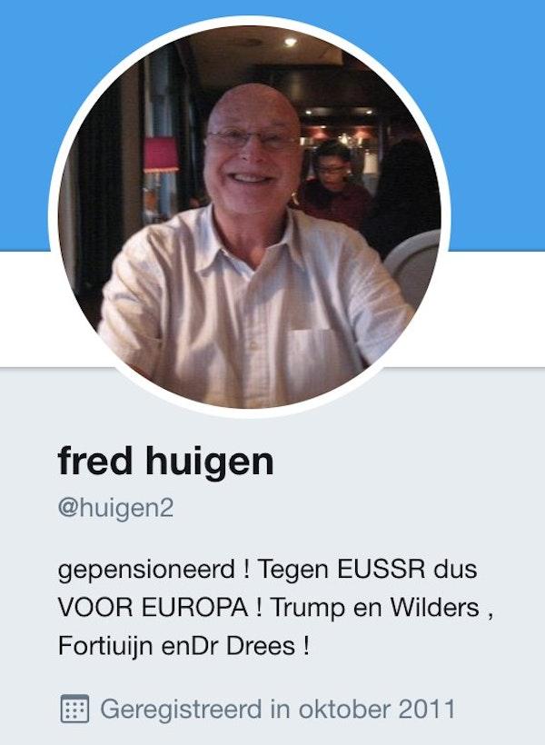 Ook al klopt het niet helemaal Fred Huigen total champ