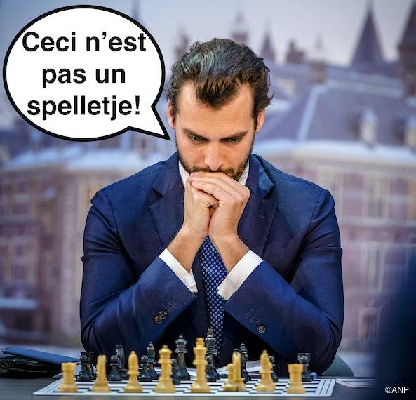 nee het is de edele schaaksport