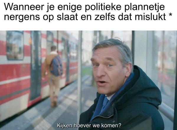 helemaal NERGENS dus Buma