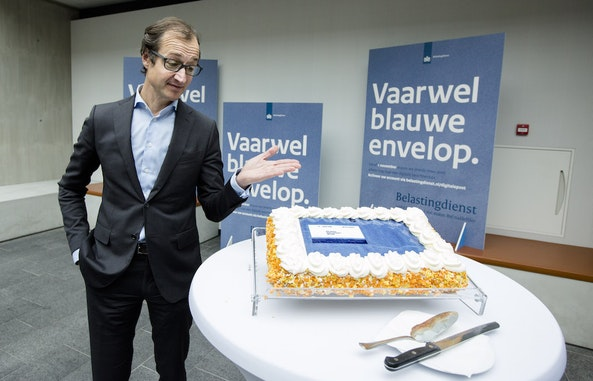 VAARWEL BLAUWE ENVELOP