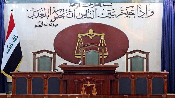 De hooggeëerde rechtbank te Irak