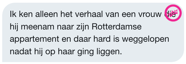 Ondertussen in de DM