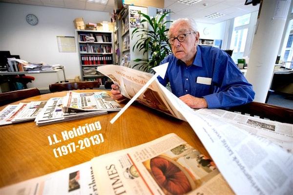 """""""De krant van Heldring..."""" #gehoordopderedactie"""