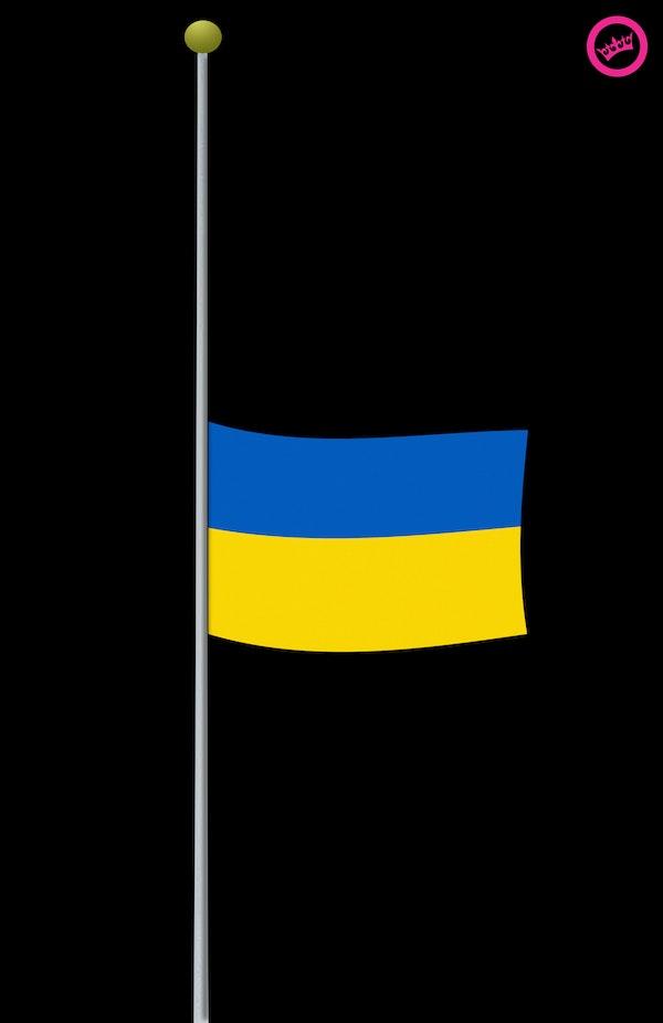het slechte nieuws is ook in Oekraïne aangekomen