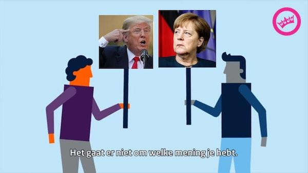 The Donald versus Mutti