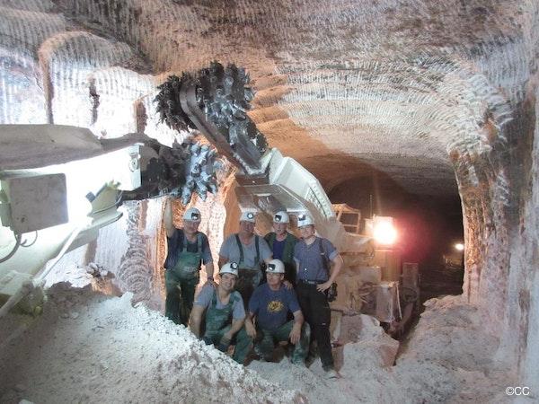 Moderne mijnbouw, best sfeervol