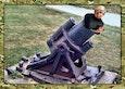 Hexit-mortier met korte, stompe vvd-loop. (Kaliber Coontje)