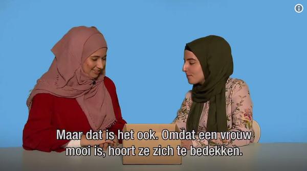 joe nos dit filmpje laat eigenlijk wel heel erg goed zien waarom het dragen van een hoofddoek voor een agent in de Nederlandse samenleving NIET neutraal is, vinden jullie niet?
