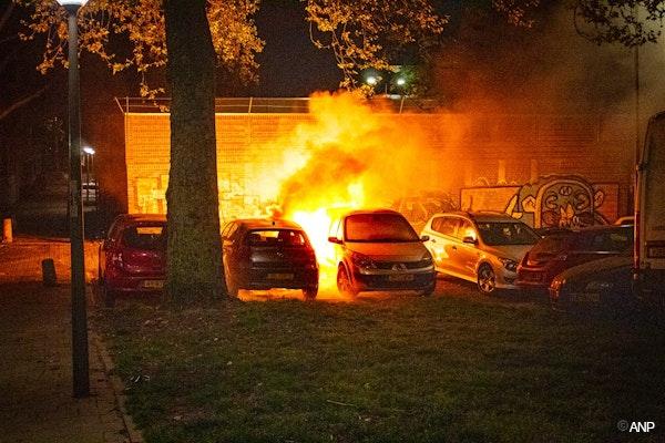 niet de autobrand in het verhaal