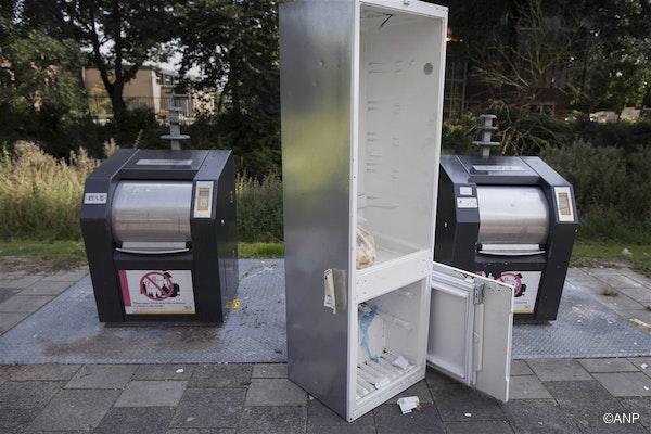 niet de koelkast in het verhaal