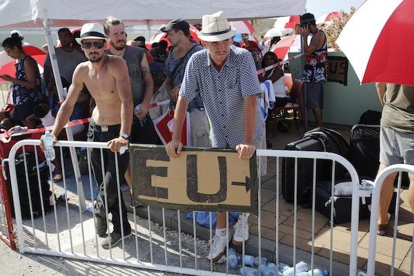 EU die kant op