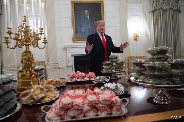Old McDonald is een Trumpstemmer
