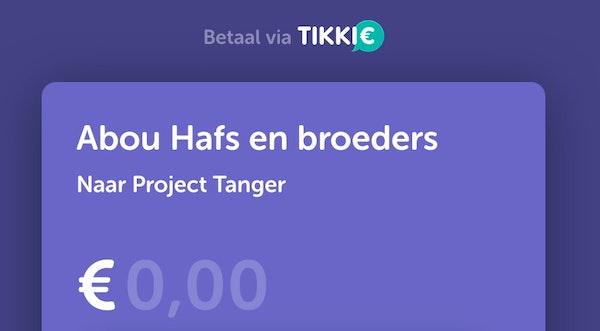 hoezo heet dit project tanger