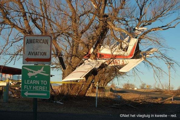 Niet het vliegtuig in kwestie - red.